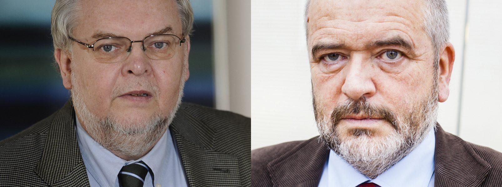 Prof. Andrzej Rychard & prof. Dariusz Filar